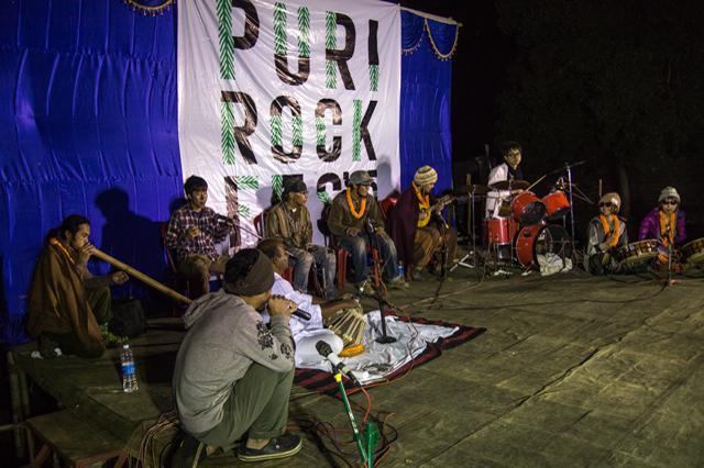 Puri Rock Festival セッション