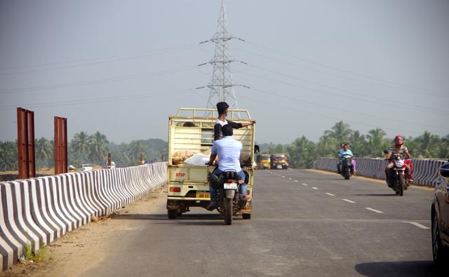 インドの道路で目にした光景