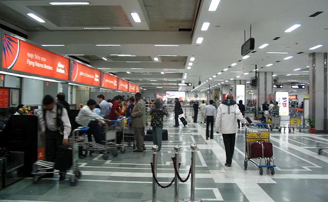 空港での両替