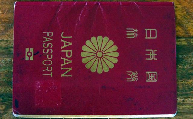 パスポートなど絶対必要アイテム
