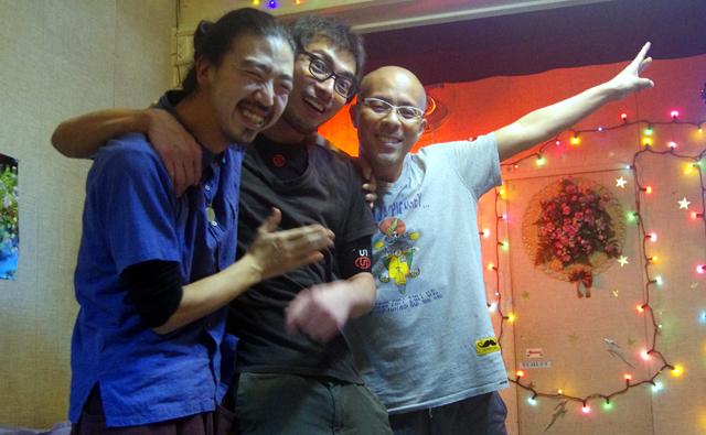 6月にまたこの3人が集う予定です!今回大阪に来られなかったあなた!次回は是非!