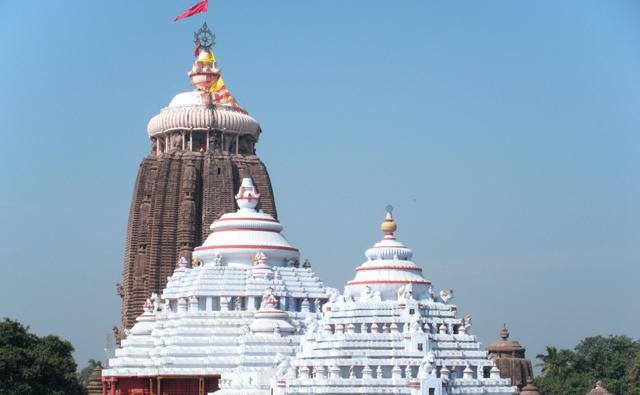 ヒンドゥ4大聖地の一つジャガンナート寺院