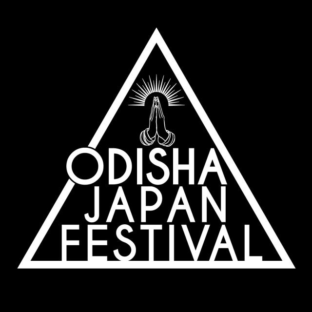 ODISHA JAPAN FESTIVALのロゴマークです。