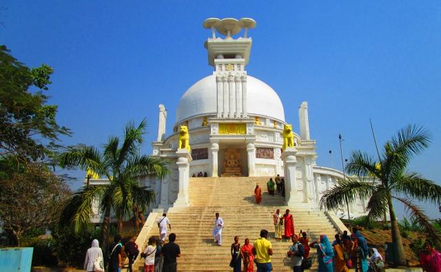 フェス前に観光で寄った仏教寺院です。